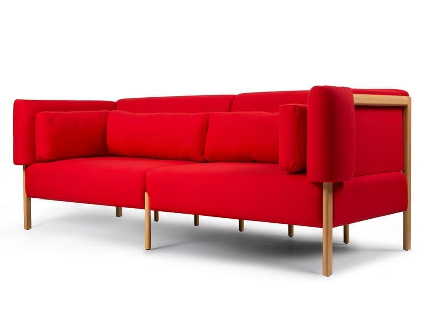 3 seater fabric sofa COD   3 seater sofa by Porventura