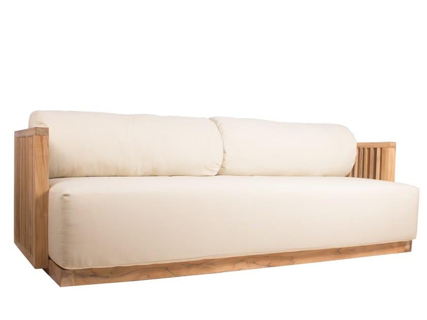Teak garden sofa CODE   Garden sofa by Il Giardino di Legno