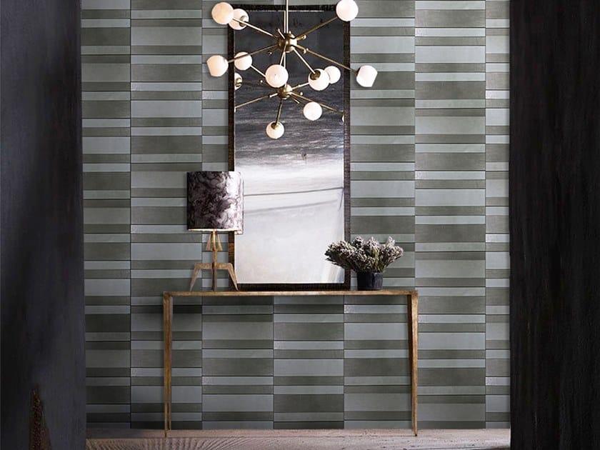 Indoor leather wall tiles CODE by Miyabi casa