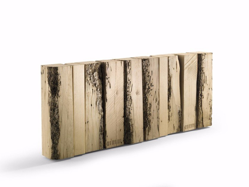 Rectangular briccola wood console table CODICE: BRICCOLE by Riva 1920