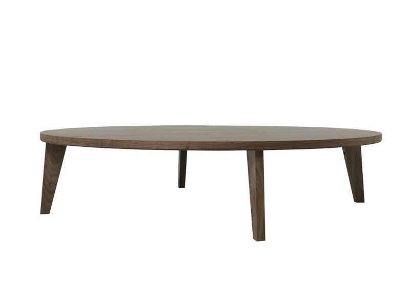 Low rectangular wooden coffee table COFFEE TABLE LOW by MINT FACTORY