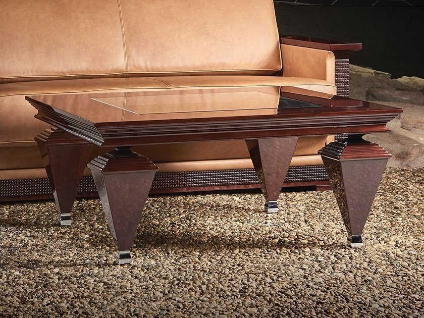 Wooden coffee table Coffee table by Nouvel Espace