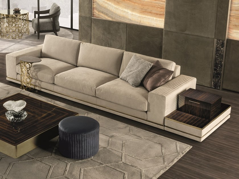 3 seater leather sofa COHEN | 3 seater sofa by Longhi