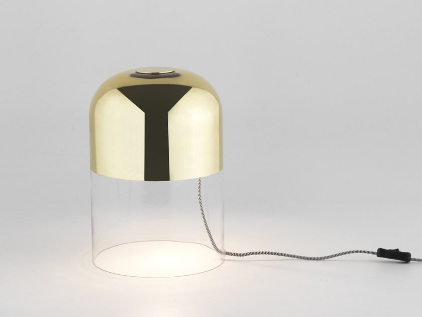 Glass table lamp COKO | Table lamp by Aromas del Campo
