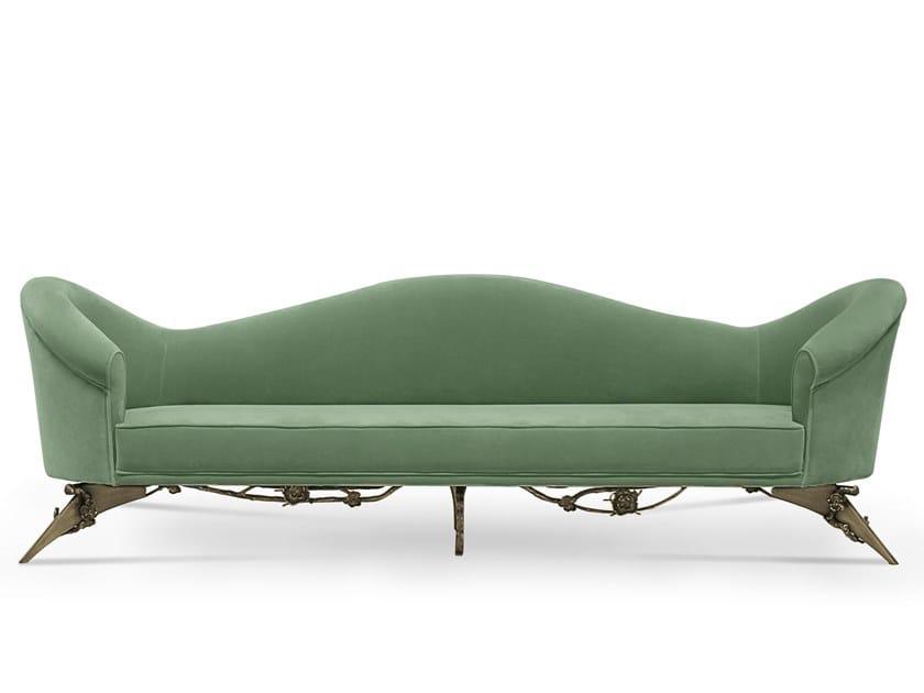 3 seater velvet sofa COLETTE | Sofa by KOKET