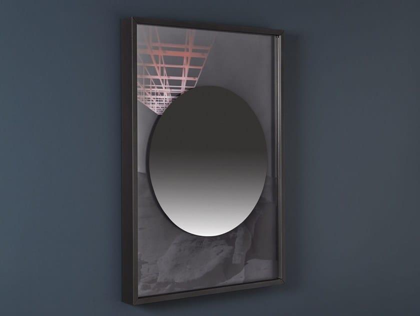 Specchio da parete con cornice COLLAGE | Specchio rotondo by Antonio Lupi Design