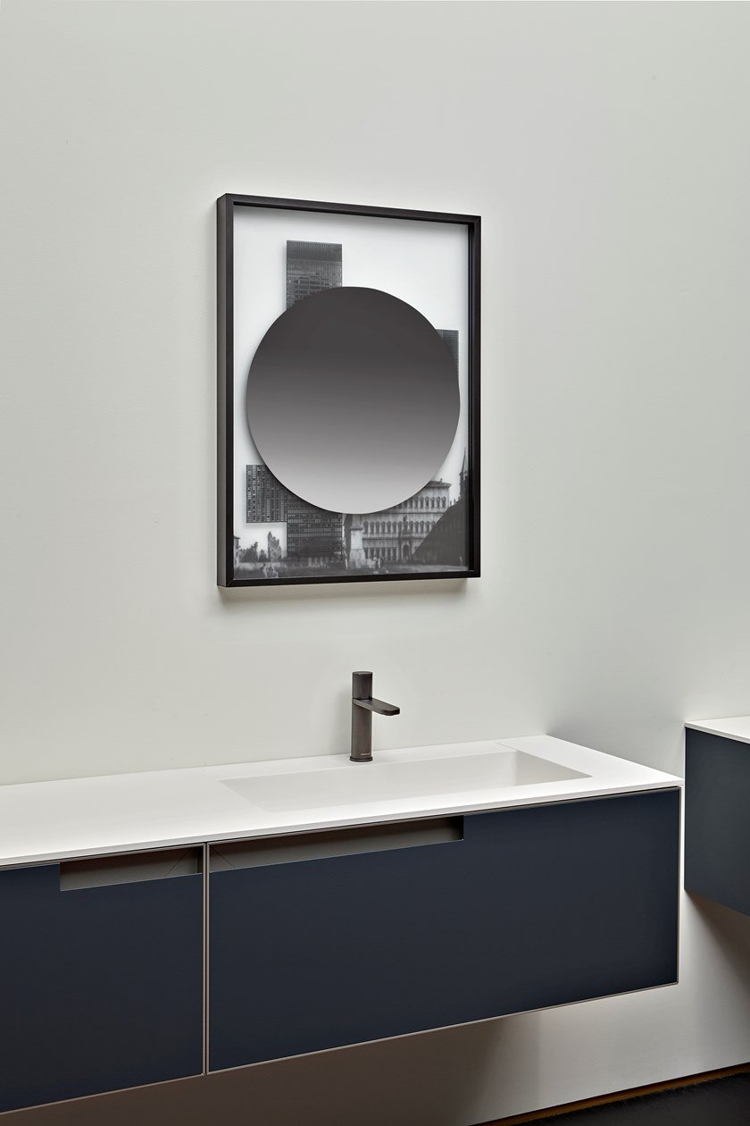COLLAGE | Round mirror By Antonio Lupi Design design Luca Galofaro