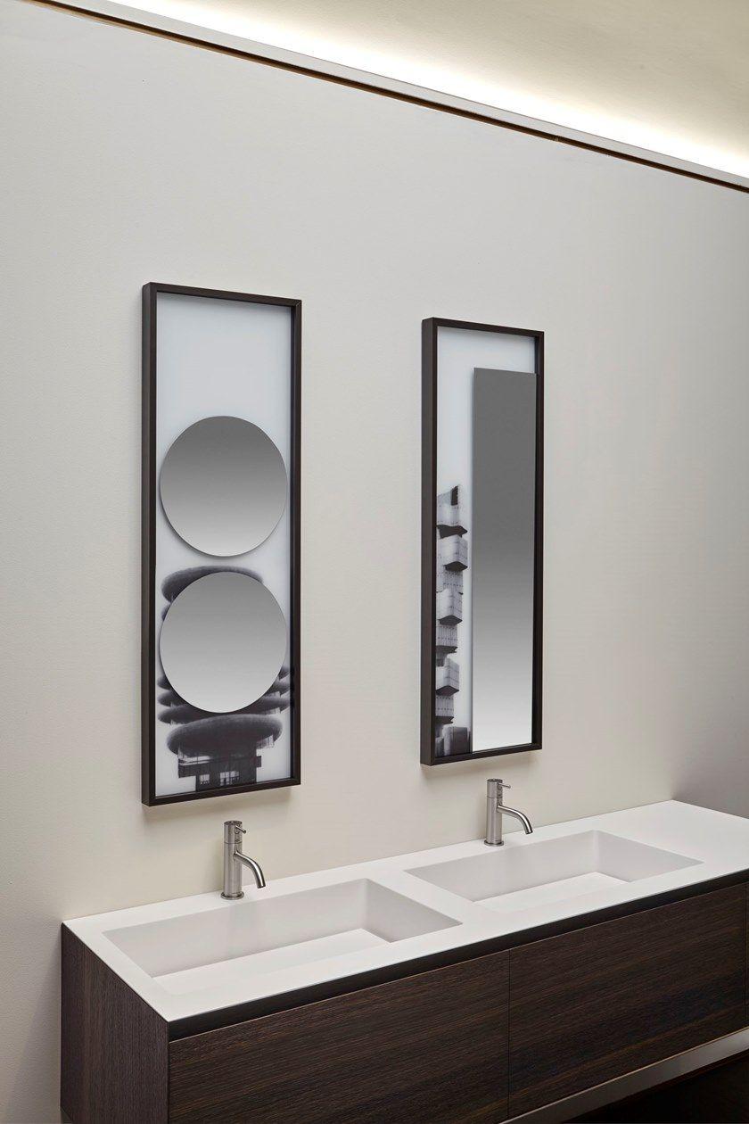 COLLAGE | Round mirror By Antonio Lupi Design design Luca Galofaro