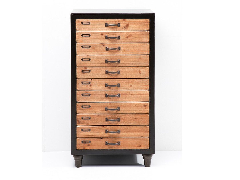Wooden chest of drawers COLLEGE | Chest of drawers by KARE-DESIGN