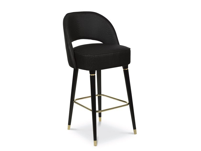 Barstool with footrest COLLINS | Barstool by Essential Home