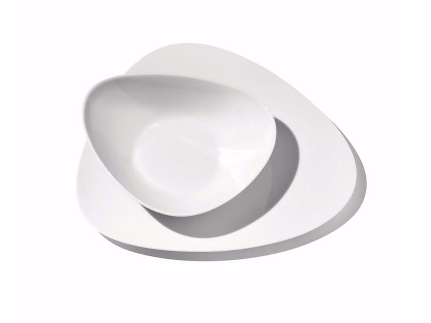 Porcelain plates set COLOMBINA | Plates set by Alessi