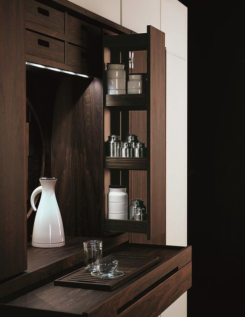 Versteckte Küche TEA TALL UNIT By TONCELLI CUCINE