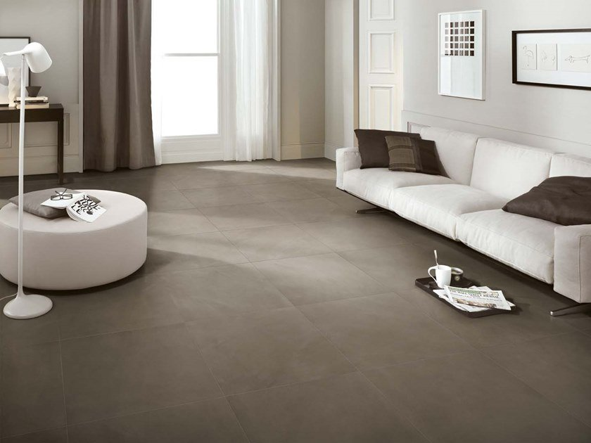 Pavimento in gres porcellanato effetto resina COLOR NOW FLOOR | Pavimento by FAP ceramiche