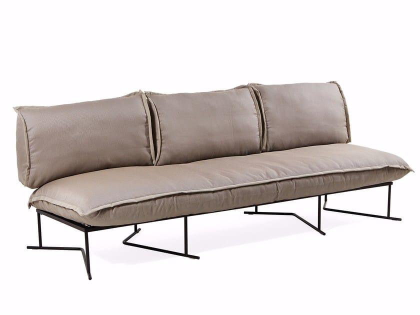 3 seater fabric sofa COLORADO | 3 seater sofa by Varaschin