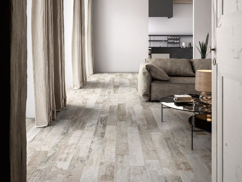 Porcelain stoneware wall/floor tiles with wood effect COLORART LIGHT by CERAMICA SANT'AGOSTINO