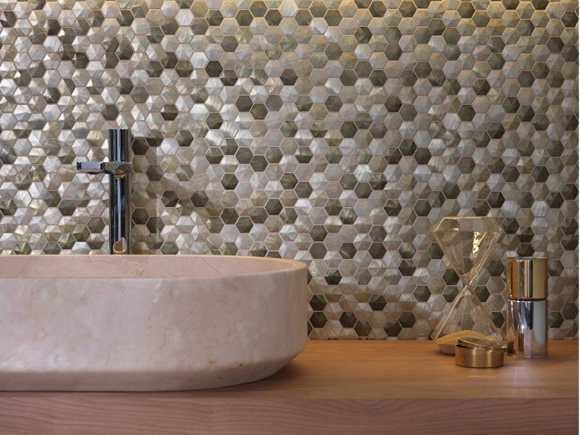 Metal mosaic COLORS by L'ANTIC COLONIAL