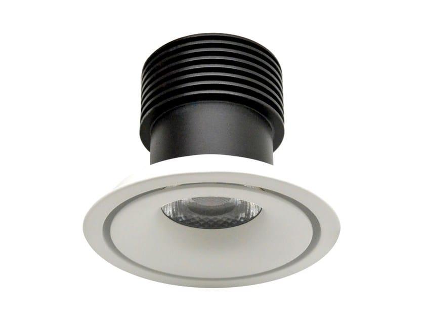 LED round recessed aluminium spotlight COLORS by LED BCN