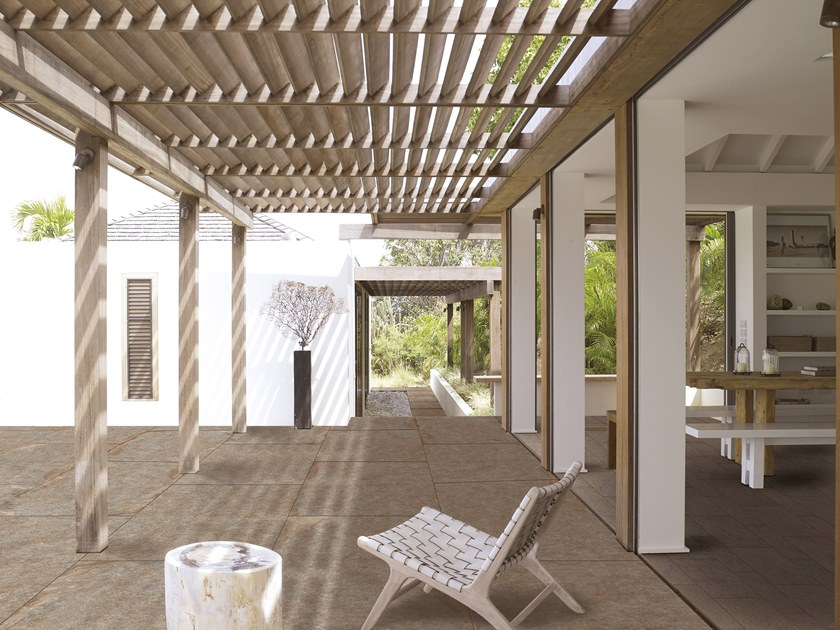 Sintered stone Artificial stone finish / outdoor floor tiles COLOSSEO PORFIDO LAVIS XXL by L'ALTRA PIETRA