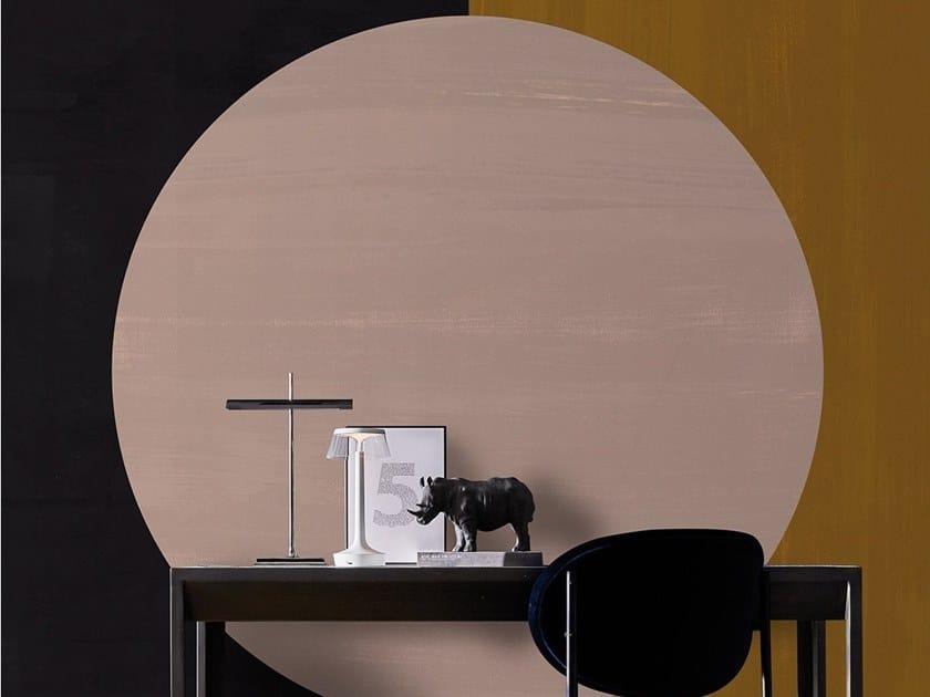 Geometric fire retardant washable wallpaper COLOUR SHAPES by Texturae