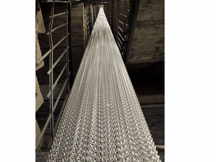 Aluminium chain curtain COLUMNS by Kriskadecor
