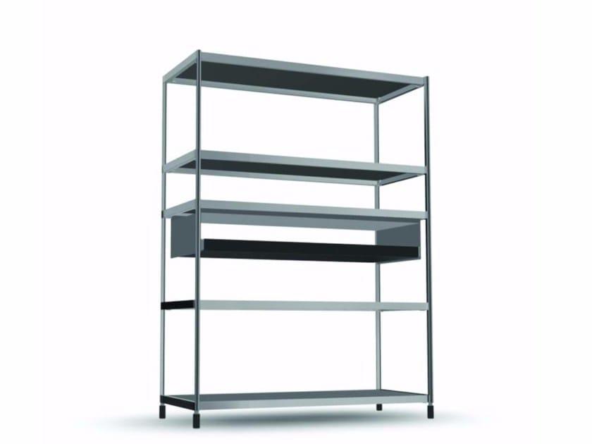 Open bookcase with drawers COM010 - SEC_com010 by Alias