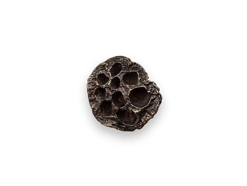 Brass Furniture knob COMB EA1024 by PullCast