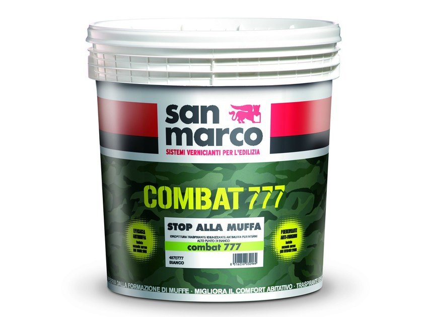Breathable water-based paint COMBAT 777 by San Marco
