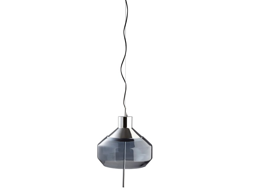 LED glass pendant lamp COMBINATION LIGHT | Pendant lamp by Forestier