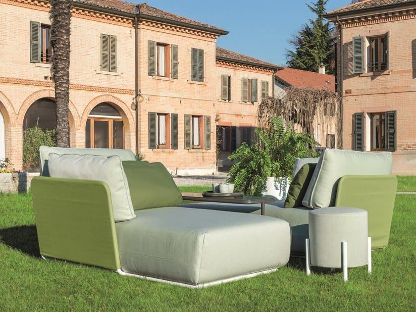 Fabric garden armchair COMBO FOR OUT | Garden armchair by iCarraro