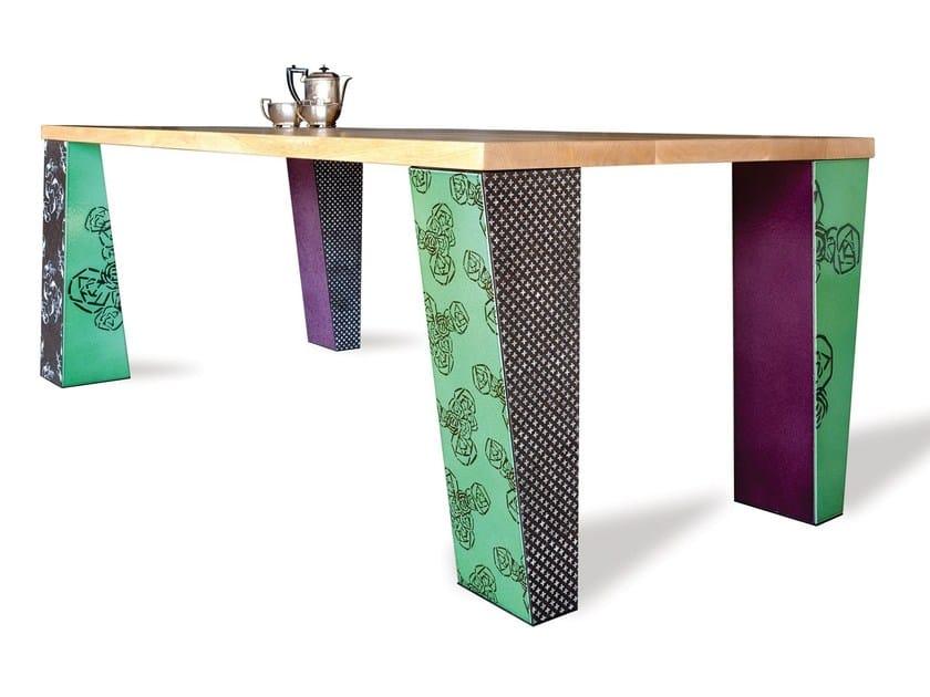 Lava stone table COME TU MI VUOI | Table by Made a Mano
