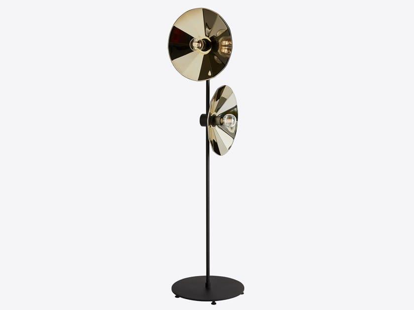Direct light adjustable metal floor lamp COMETA by RADAR INTERIOR