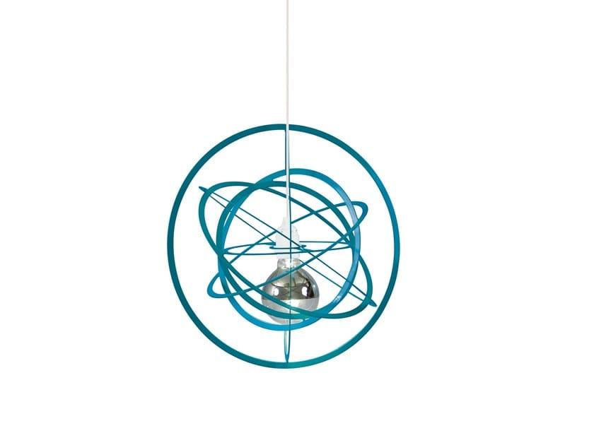 Metal pendant lamp COMETE by LUZ EVA