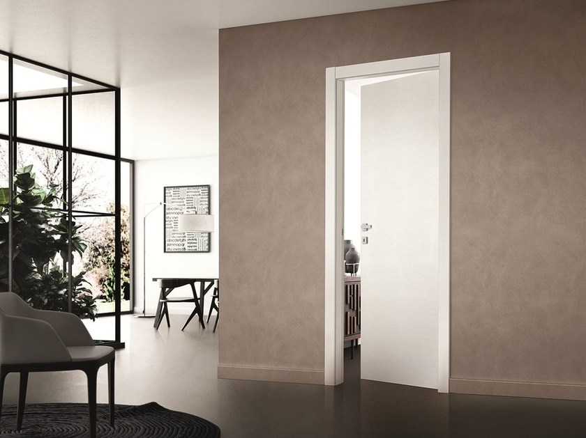 Hinged lacquered door COMFORT | Hinged door by SCRIGNO