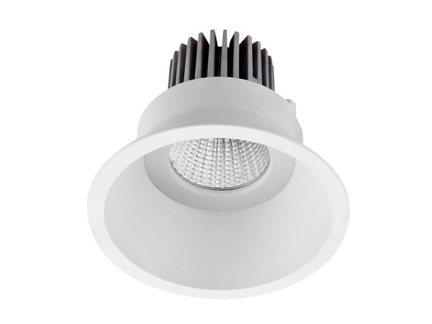 LED round recessed aluminium spotlight COMFORT by LED BCN