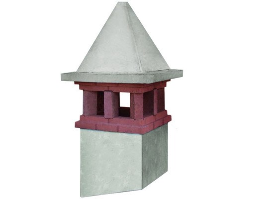 Chimney for roof CICOGNA by MONIER