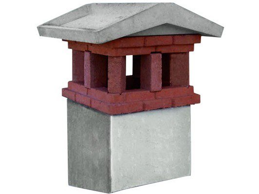 Chimney for roof FALCO by MONIER