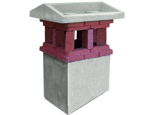 Chimney for roof PICCIONE by MONIER