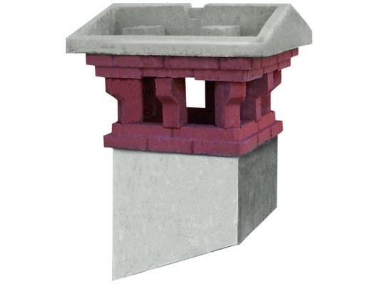 Chimney for roof RONDINE by MONIER