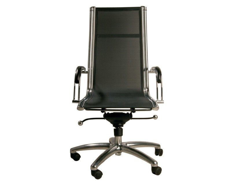 Swivel task chair with armrests with casters COMMANDER HIGH by KARE-DESIGN
