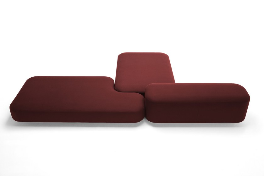 Sectional sofa COMMON by Viccarbe