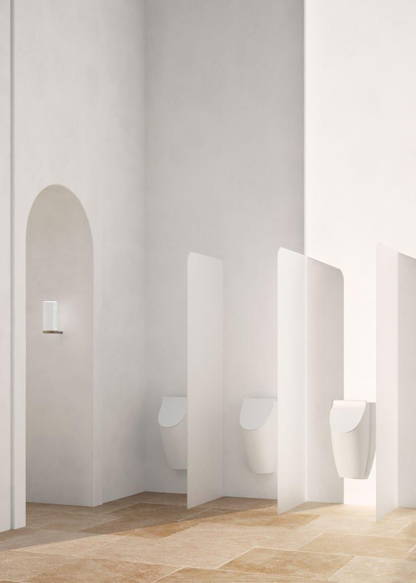 COMMUNITY 35X31 | Orinatoio in ceramica