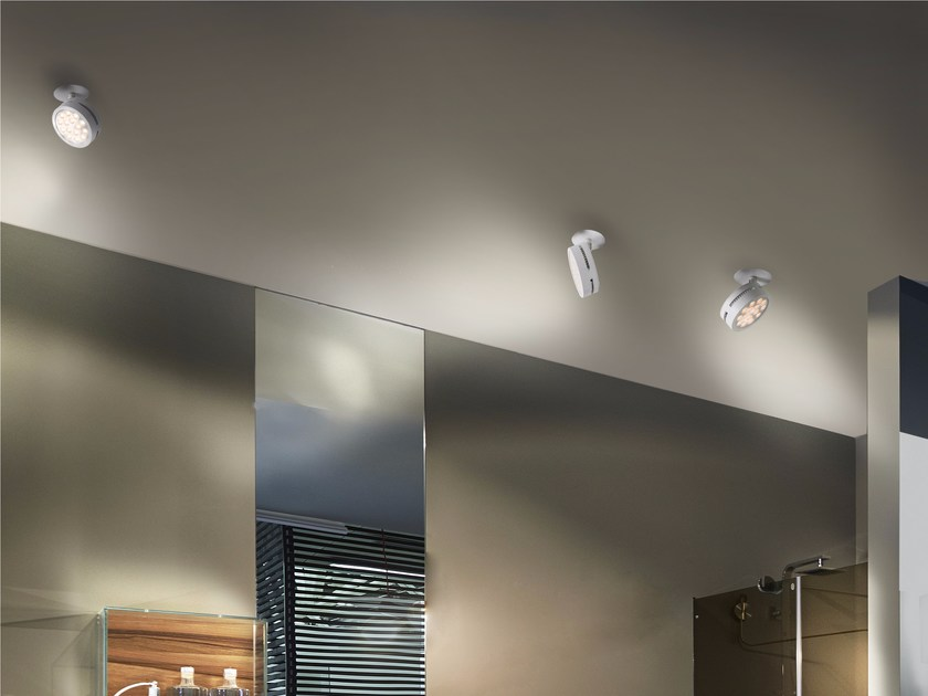LED Ceiling aluminium COMPACT | Ceiling by GLIP by S.I.L.E