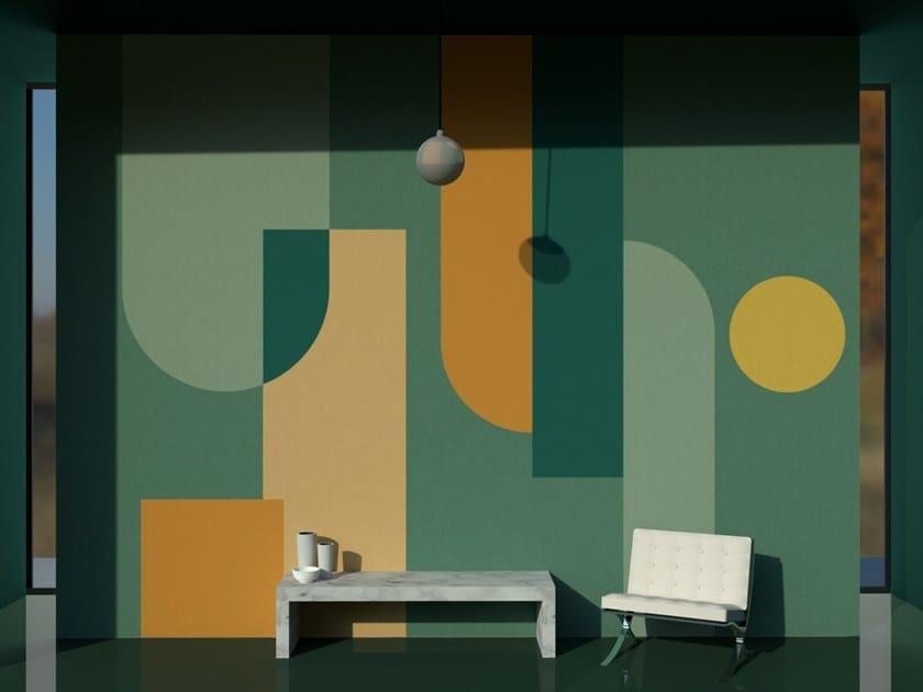 Wall tiles / wallpaper COMPOSITION GREEN by Officinarkitettura®
