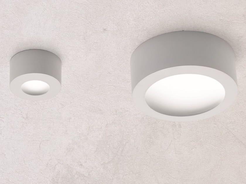 Aluminium wall lamp / ceiling lamp CONCA by Ailati Lights