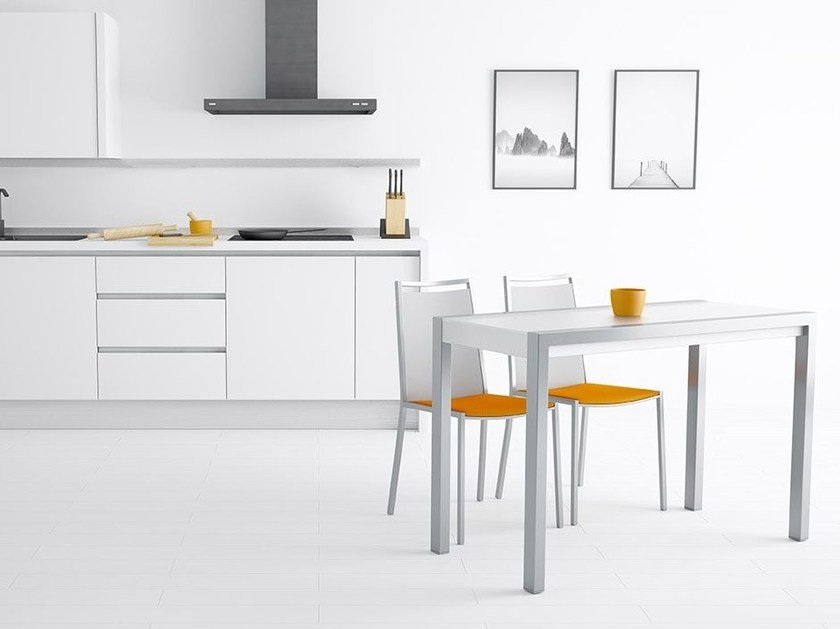 Extending table with casters CONCEPT MINOR by CANCIO