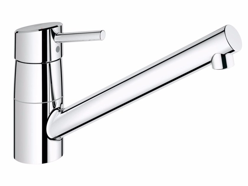 Countertop 1 hole kitchen mixer tap CONCETTO 32659001 | Kitchen mixer tap with swivel spout by Grohe