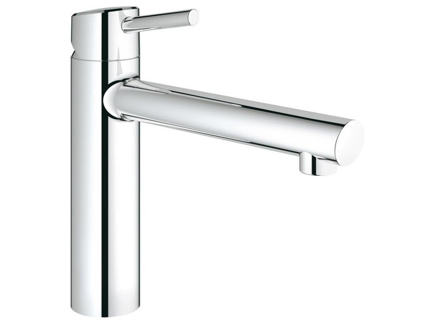 Countertop kitchen mixer tap with swivel spout CONCETTO 31210001 | 1 hole kitchen mixer tap by Grohe