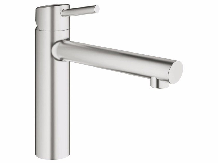 Countertop 1 hole kitchen mixer tap with swivel spout CONCETTO 31128DC1 | Kitchen mixer tap by Grohe