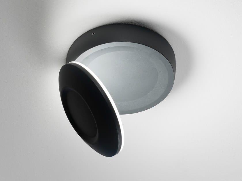 Lampada da soffitto per esterno a LED in alluminio pressofuso CONCHIGLIA | Lampada da soffitto per esterno by AiLati