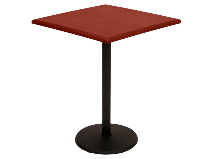 Tavolo da giardino quadrato in acciaio CONCORDE PREMIUM | Tavolo quadrato by Fermob